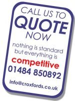 Call us NOW for a quote.